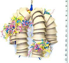 Bird, parrot, chinchilla and rabbit toys by Christina by abirdtoy Parrot Toys, Parrot Bird, Parrot Facts, Senegal Parrot, Budgies, Parrots, Cockatiel Toys, Parakeet Toys, Diy Bird Toys