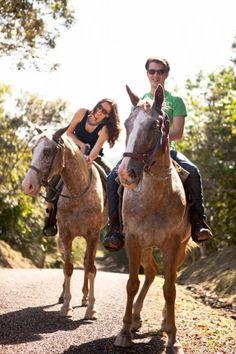 Private Horseback Tour of Xunantunich Maya Site near Ka'ana! http://www.kaanabelize.com/blog/index.php/2014/11/05/explore-mayan-history-on-horseback-at-the-ancient-city-of-xunantunich/ #adventure #luxury #xoBelize