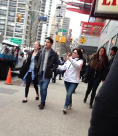 Glee Filming NYC (3/16/14)