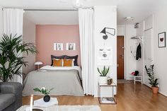 16 Super Functional Ideas For Decorating Small Bedroom Apartment