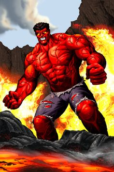"""Thaddeus E. """"Thunderbolt"""" Ross (Red Hulk) Species: Human Mutate (USA) Superhuman strength, stamina and durability, healing factor, energy absorption, heat generation (Debut: 1962) Currently Portrayed by: William Hurt (MCU)"""