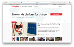 change.org https://www.change.org