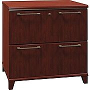 Buy Bush Business Enterprise 30W 2-Drawer Lateral File, Harvest Cherry at Staples' low price, or read customer reviews to learn more.