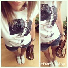 Cozy,lazyday,workhard,converse,leatherbag,jeans,short,blue,white,longbob,bronde.