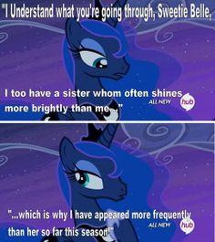 Luna's Outdoing Celestia This Season