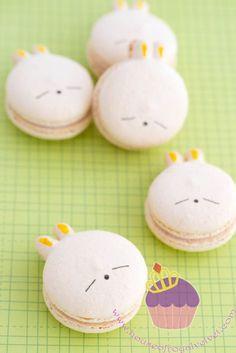 mashimaro macs. Kawaii food art: