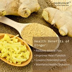 #Medisys #FitTips -- #Health #benefits of #Ginger