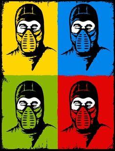 Mortal Kombat Pop Art