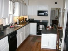 140 Kitchens With Black Appliances Ideas Black Appliances Black Appliances Kitchen Black Kitchens