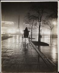 [Columbus Circle at night.]ca. 1915