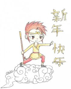 darling! Year of the Monkey craft site. Chinese New Year