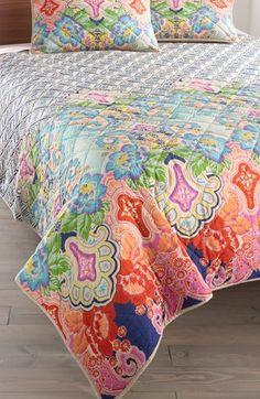 Rizzy Home 'Corner' Quilt (Nordstrom Exclusive) available at #Nordstrom