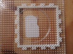 Lamp of Perler Beads - Instructions and Template Fuse Bead Patterns, Box Patterns, Perler Patterns, Beading Patterns, Perler Beads Instructions, Perler Bead Templates, Hama Beads, Fuse Beads, Do It Yourself Lampe