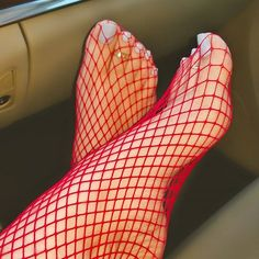 Am I the only one that wears fishnets to the office? #organic #vegan #fishnets #nylons #manipedi #pedi #pedicure