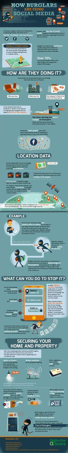 How Burglars Are Using Social Media
