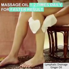 Lymphatic Drainage Ginger Oil - The Lymphatic Drainage Ginger Oil is composed of a powerful blend of rich essential oils and extrac - Technique Massage, Massage Techniques, Detox Lymphatic System, Lymphatic Drainage Massage, Chocolate Slim, Varicose Veins, Deep Tissue, Massage Oil, Feet Care