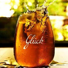 Wasserglas mit #Kristall #Glück