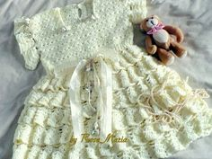 Gorgeous Baby Dress with Volants