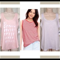 Tank Top Bundle Sale Size Small Brand new with tag. Never worn. All Size Small. Valued at $31. On sale all 3 tank tops for only $20. Also available individually...just ask for a separate listing. 20% Off two items or more. Trades PP. Reasonable offers always welcome Free shipping on orders over $50 Old Navy Tops Tank Tops