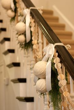 check out 27 christmas staircase decor ideas that you will love whether you have gorgeous old wooden banisters or sleek contemporary glass fittings