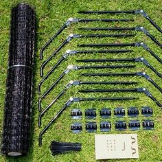 Cat fencing stuff, add to existing fencing and cat proof your yard and keep kitties safer!