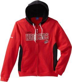 NHL Carolina Hurricanes Full Zip Hoodie, Medium by Reebok. $36.23