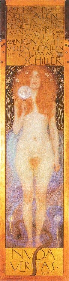 Gustave Klimt – Nude Veritas