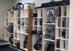 storage for marching band percussion - Google Search #musicalband #musical #band #percussion Classroom Setup, Music Classroom, Band Rooms, Drums Studio, Eagle Project, Band Director, High School Band, Sound Studio, Room Shelves