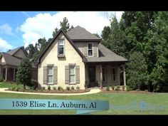 1539 Elise Ln , Auburn, AL Beautiful living spaces inside & out and charm galore! Hardwoods throughout the living areas & kitchen and two living areas! Great room w/20 ft. ceilings and arched doorways leads to the formal dining room and wrought iron staircase. Gorgeous kitchen w/granite island, craftsman hood, stainless appliances, custom cabinets & bright breakfast room. Keeping room w/fireplace opens to screened porch. Call Ashley Durham (334) 559-8817. Prestige Properties.