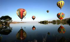 Balloon rides in Temecula are spectacular!  #rachellelopezrealtor