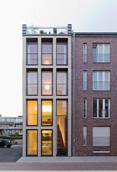 LK   Architekten: Wohn- und Bürohaus Schwalbengasse 32 Köln