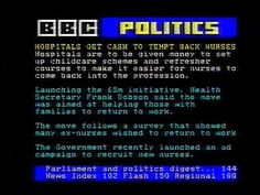 You didn;t have to worry about world events because when you got up early to watch the news on Ceefax you didn't understand any of it anyway.
