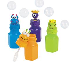 Monster Character Bubbles - OrientalTrading.com