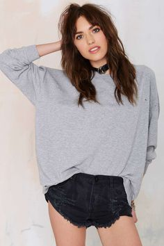 Cheap Monday Fray Distressed Sweatshirt | Shop Clothes at Nasty Gal!