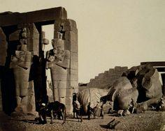 ::::ﷺ♔❥♡ ♤✤❦♡ ✿⊱╮☼ ☾ PINTEREST.COM christiancross ☀ قطـﮧ ⁂ ⦿ ⥾ ❤❥◐ •♥•*⦿[†] :::: Francis Frith. Egypt 1858