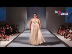 Летние и вечерние платья для полных женщин Arthur Caliman 2015 - YouTube