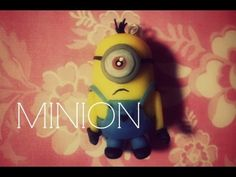 TUTORIAL 52: Minion (Porcelana Fría/Polymer clay )