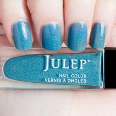 Tomi - Wonder Maven - Julep - Bermuda blue holographic jelly