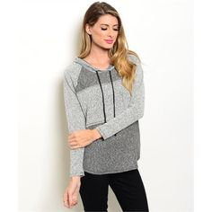 ❄️WINTER SALE❄️ Gray Hoodie 2 Smalls left Lightweight and comfy! 71% polyester 24% rayon 4% spandex. PLEASE DO NOT BUY THIS LISTING. Comment with your size when you're ready to purchase and I'll make you a new listing! Sweaters