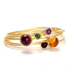 Baubles 18K Stacking Bracelets