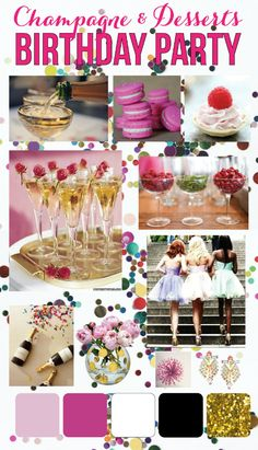 mint love social club: {champagne & desserts party inspiration}