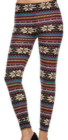 Biggest online women's wholesale clothing shop in USA. Aztec Print Leggings, Printed Leggings, Unique Outfits, Vintage Outfits, Cute Outfits, Sweaters And Leggings, Tight Leggings, Indie Outfits, Indie Clothes
