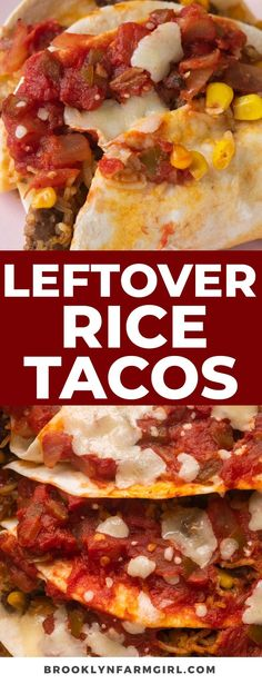 25 minutes · Serves 6 Ground Beef Rice, Ground Beef Tacos, Beef And Rice, Leftover Mashed Potatoes, Leftover Rice, Mexican Food Recipes, Healthy Recipes, Mexican Appetizers, Vegetarian Mexican