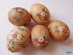 Obrazok - Domáce maľované veľkonočné vajíčka