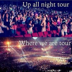 "Can't wait to be one of those girls in the ""where we are tour"" crowd❤️"