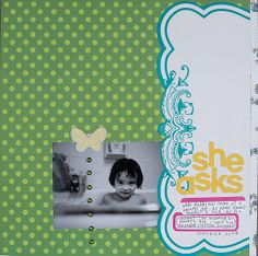Themed Projects : she asks by jamiekcc&e @2peasinabucket