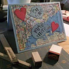 I'm here, you're there card. For Jishnu