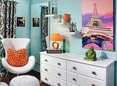 teen room design by Decorating Den Interiors