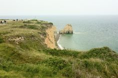 Pointe du Hoc- Ranger Memorial, Normandy, France