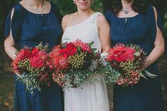 Image Gallery for Tonia and Shane's Modern Australian Bushland Wedding featured on Polka Dot Bride. Wedding Bouquets, Wedding Flowers, Wedding Dresses, Bush Wedding, Love Flowers, Bloom, Bridesmaid Dresses, Australian Bush, Beautiful Bouquets